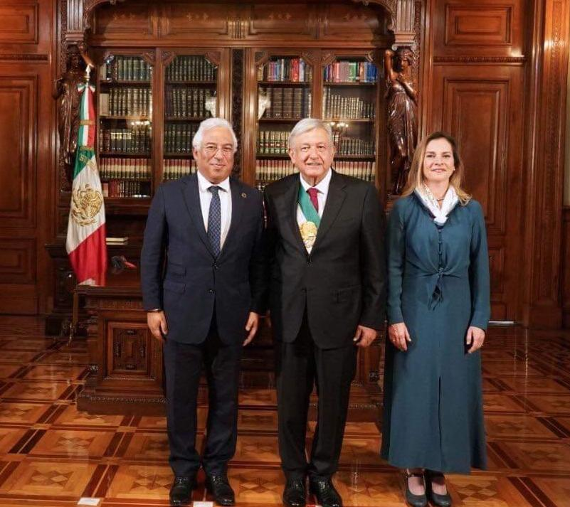 PM António Costa with President AMLO